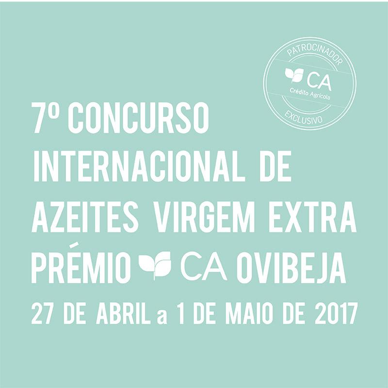 7º Concurso Internacional de Azeites Virgem Extra – Prémio CA Ovibeja
