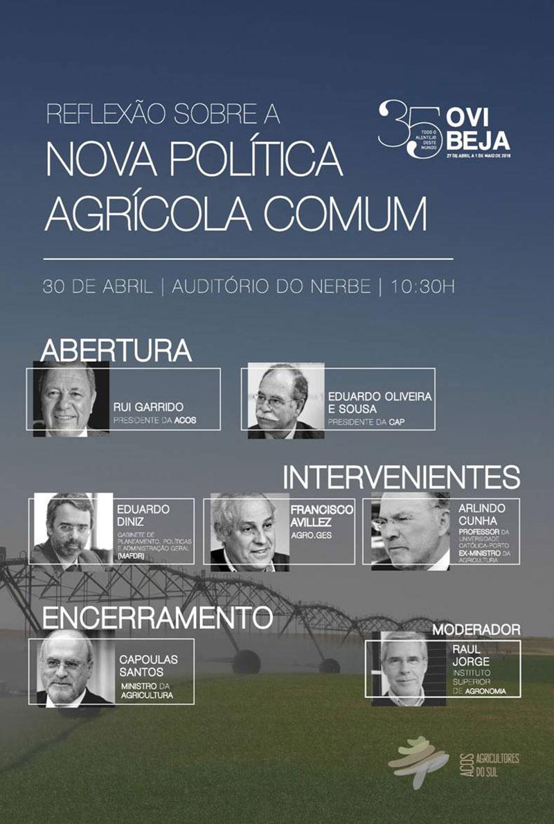 Reflexão sobre a Nova Política Agrícola Comum