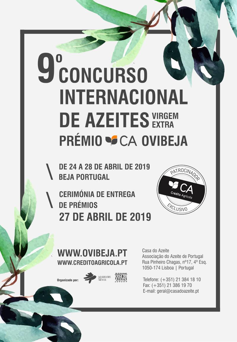 9º Concurso Internacional de Azeites Virgem Extra – Prémio CA Ovibeja
