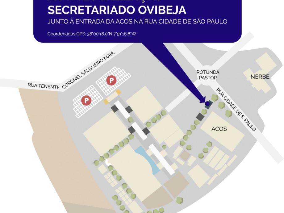 Secretariado da 37ª Ovibeja já funciona em pleno na Rua Cidade S. Paulo